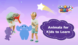 Animals for Kids to Learn - Galaxy Kids