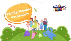 Family Member Vocabulary for Kids