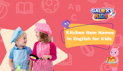 Kitchen Item Names in English for Kids