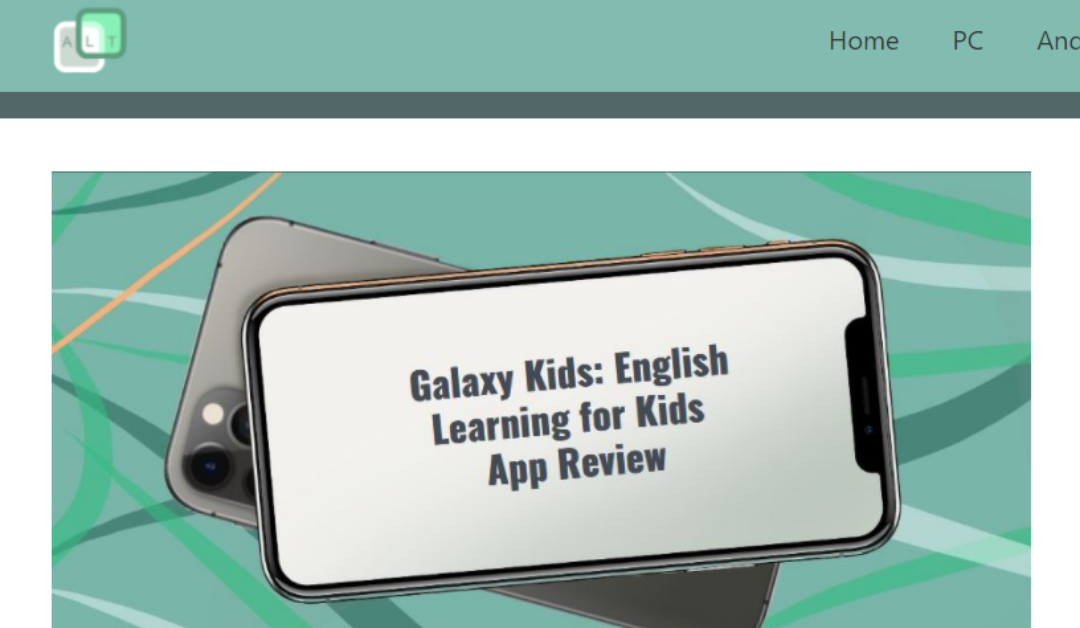 Galaxy Kids Featured on Apps Like These