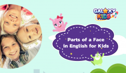 Parts of a Face in English for Kids