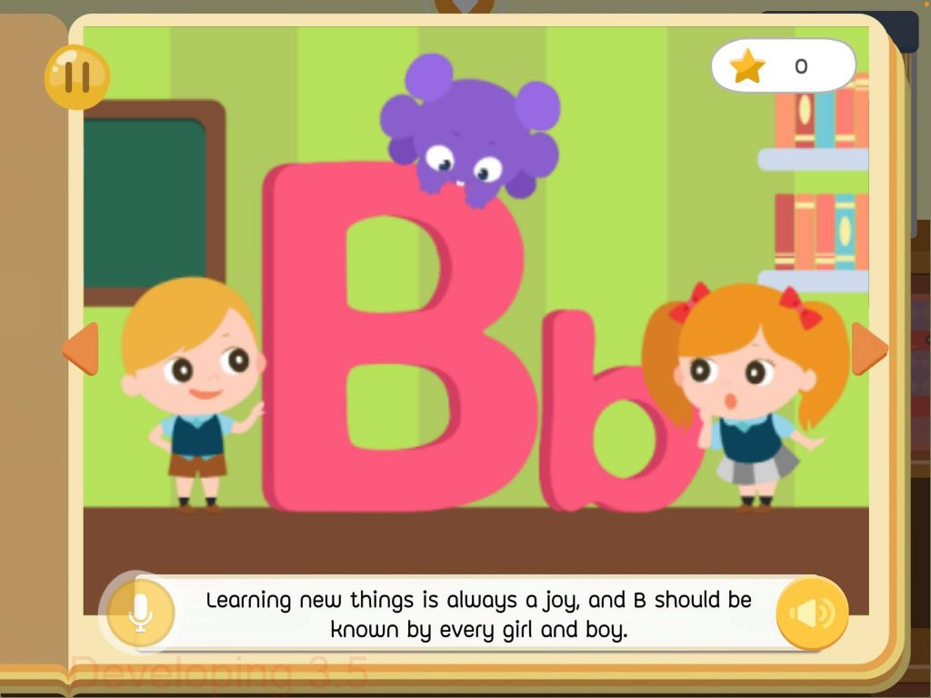 B Letter Book