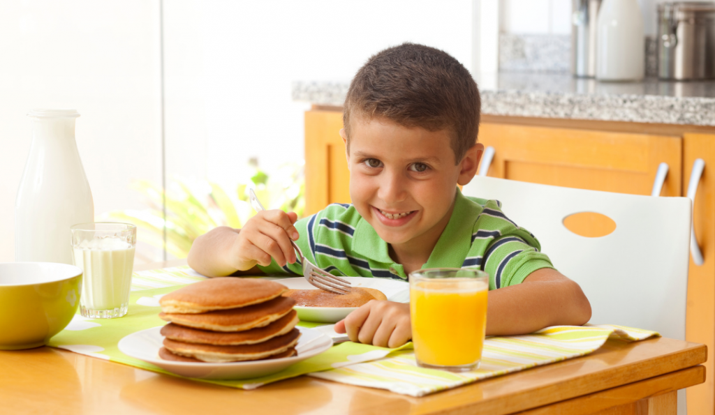 Breakfast Foods in English for Kids