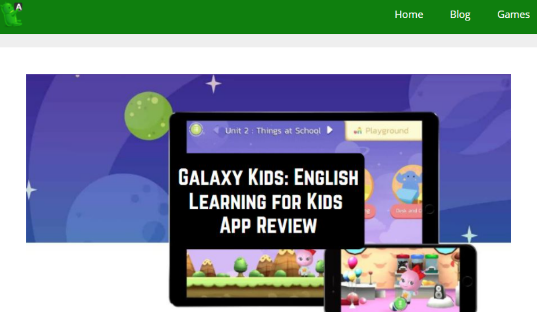 Galaxy Kids Featured on Android Apps for Me