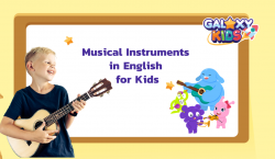 Musical Instruments in English for Kids