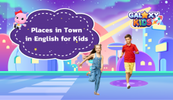 Places in Town in English for Kids