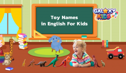 Toy Names in English For Kids