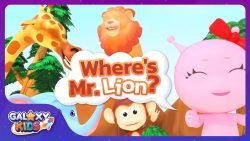 Where's Mr Lion Song Galaxy Kids